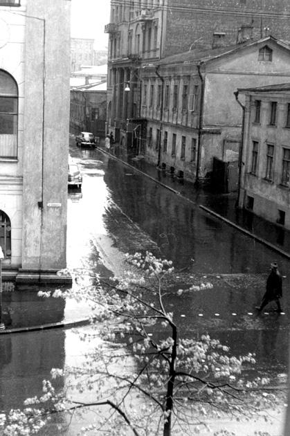 Б.Ржевский переулок. 1959-е
