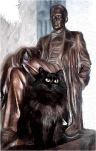 Булгаков и кот